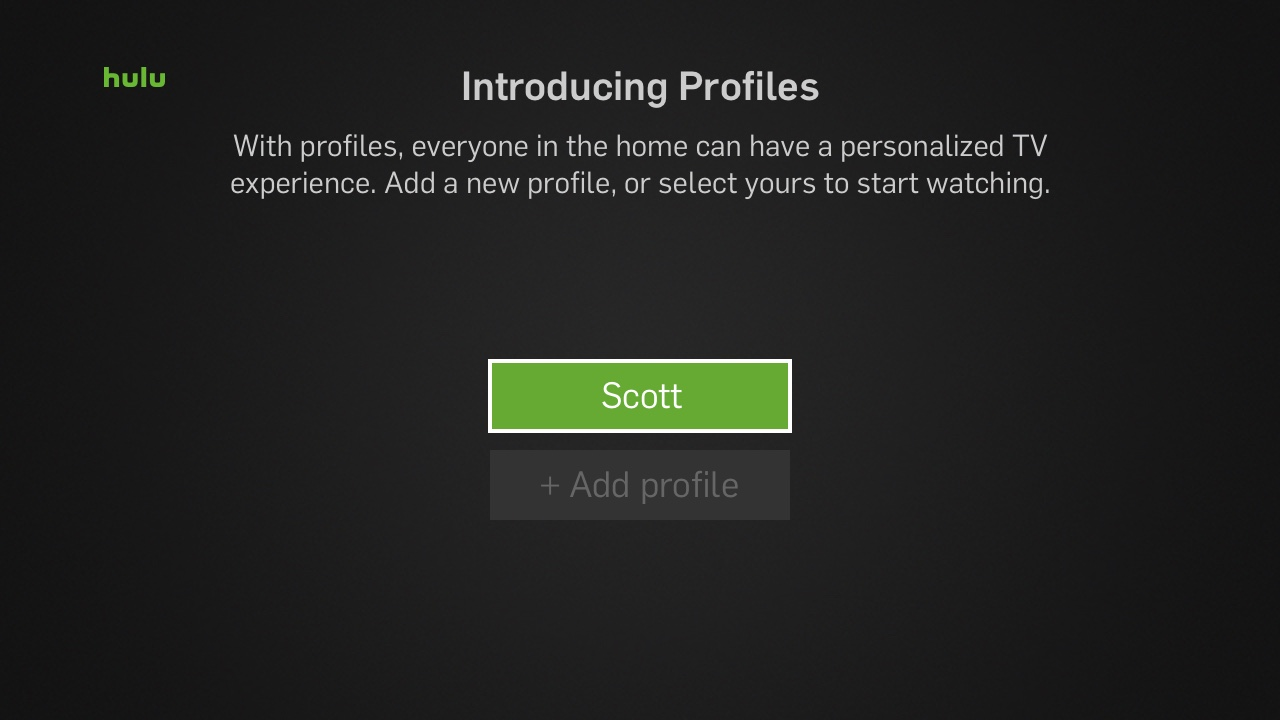 Introducing Profiles
